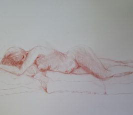 Reclining Nude, May 2016