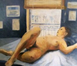 Reclining nude 12th Nov. 2020