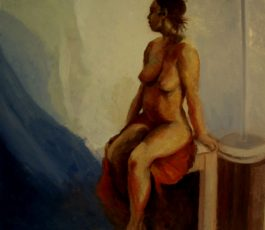 Seated Nude, 2016